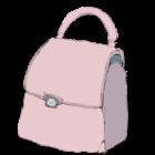 ハンドバッグのイラスト