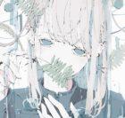 葉っぱを持った女の子のイラスト