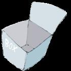 ボックスのイラスト