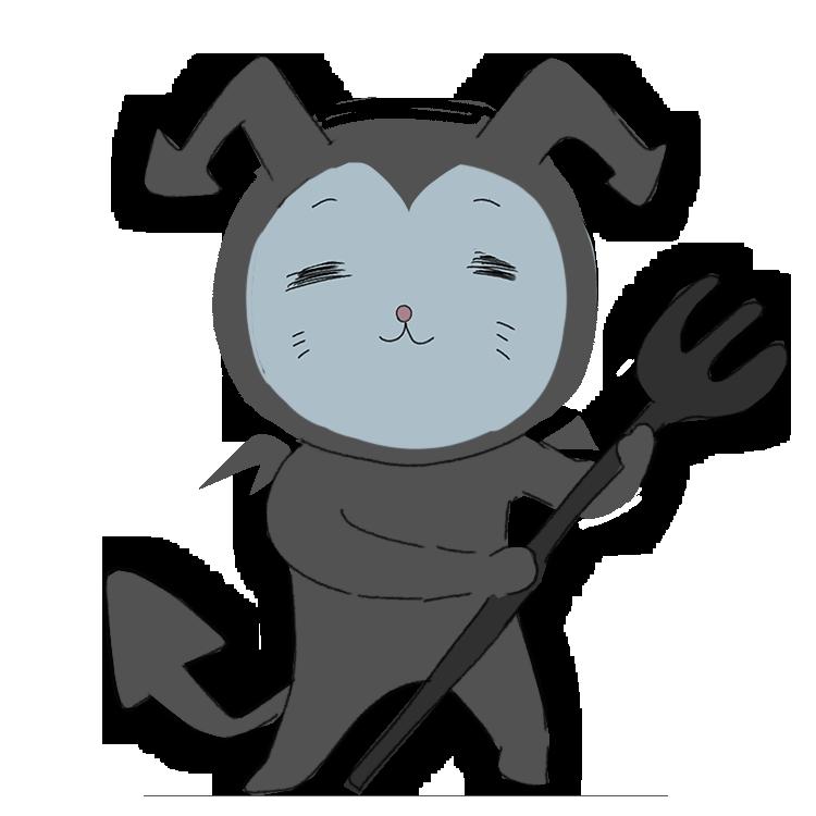 ドラキュラの下っぱの猫